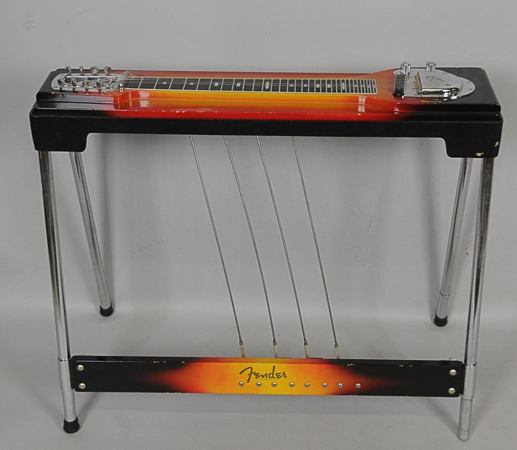 Fender 400-8-SN Sunburst Pedal Steel Guitar