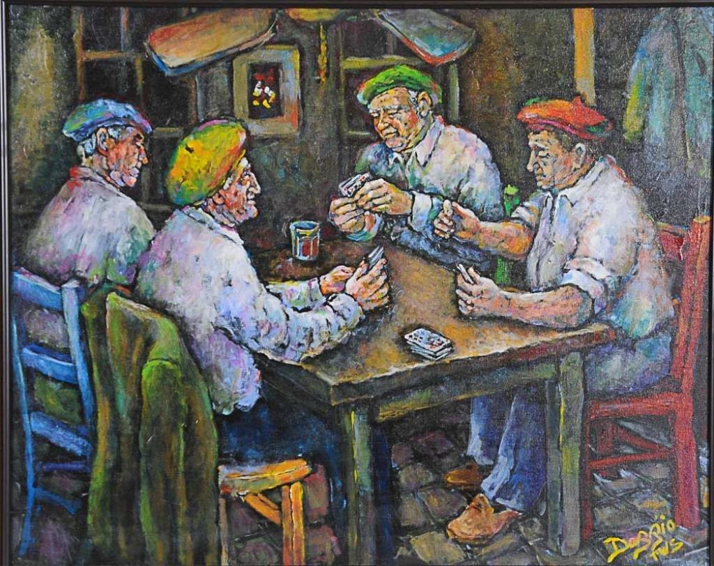Judith Dazzio (Am., b. 1942) Acrylic on Canvas