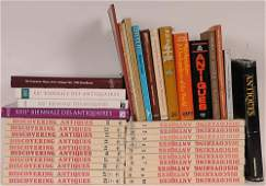 Lot of Antique Reference Books