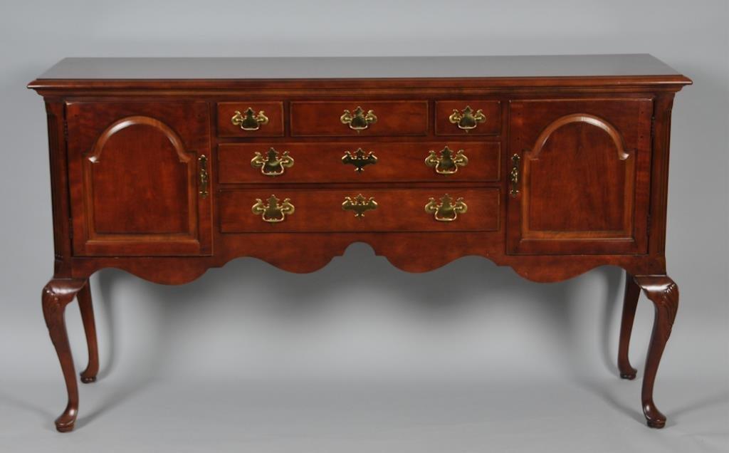 Henredon Queen Anne Mahogany Sideboard