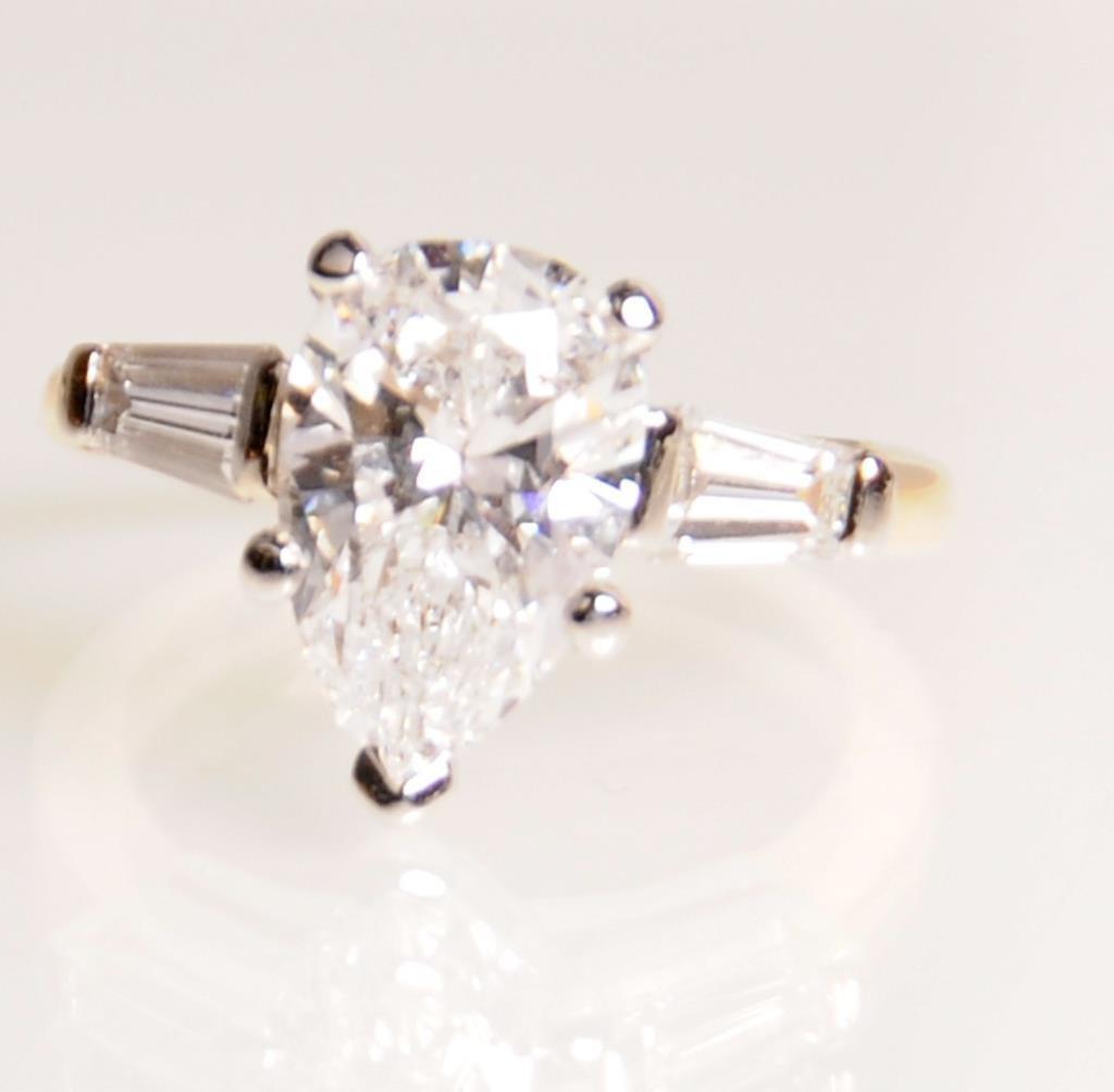 2.57 Carat Diamond Ring, GIA Certified