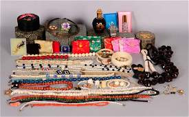 Lot of Jewelry & Other--Sterling, Chinese, Cameo