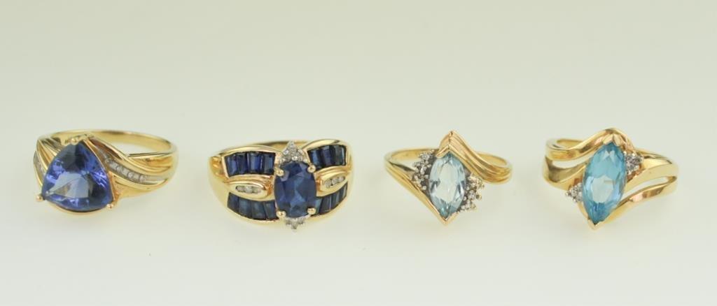 Four Ladies' Rings