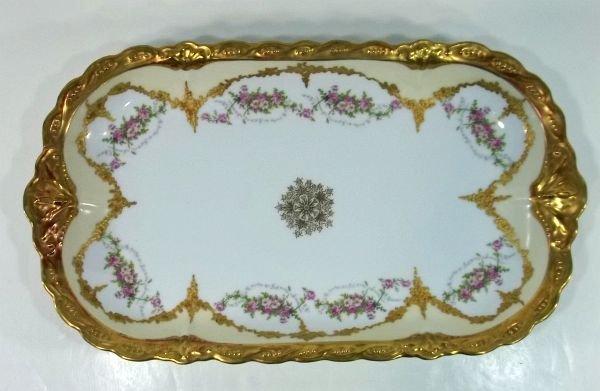 1: Limoges Serving Platter