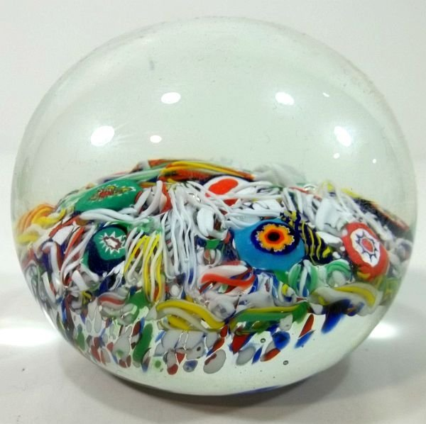 81: Paperweight -Gentile Glass W.VA.