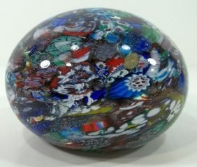 Paperweight -Large Millefiori
