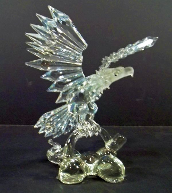 14: Swarovski (possible) Crystal Bald Eagle