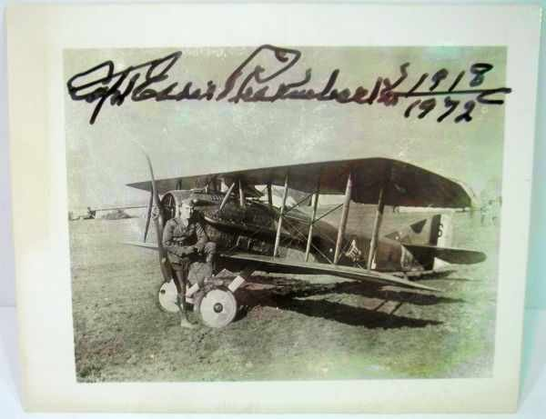 1: Capt. Eddie Rickenbacker Autograph
