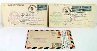 3: Aviation Pioneer Autographs