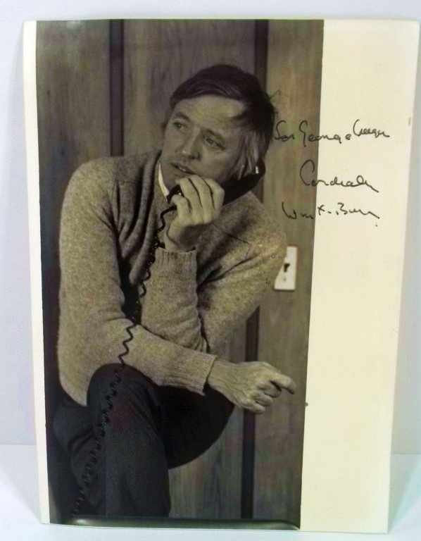 12: William F. Buckley Autograph