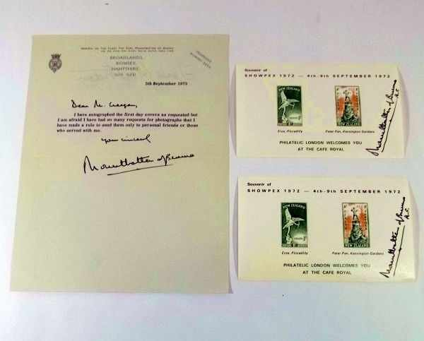 15: Mountbatten of Burma Autographs