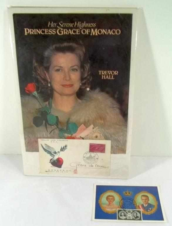 16: Princess Grace DeMonaco Autograph