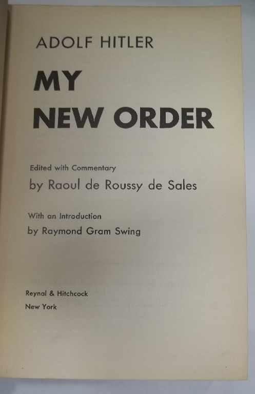 26: My New Order - Adolf Hitler - 2