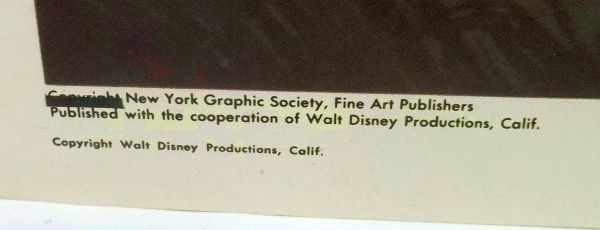 215: 4 Walt Disney Lithographs - 10