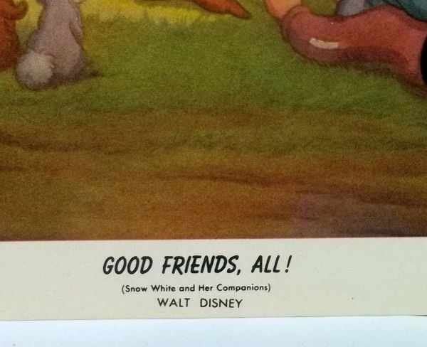 215: 4 Walt Disney Lithographs - 4