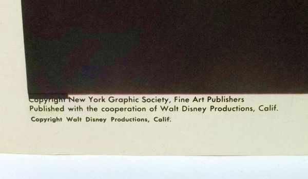 215: 4 Walt Disney Lithographs - 7