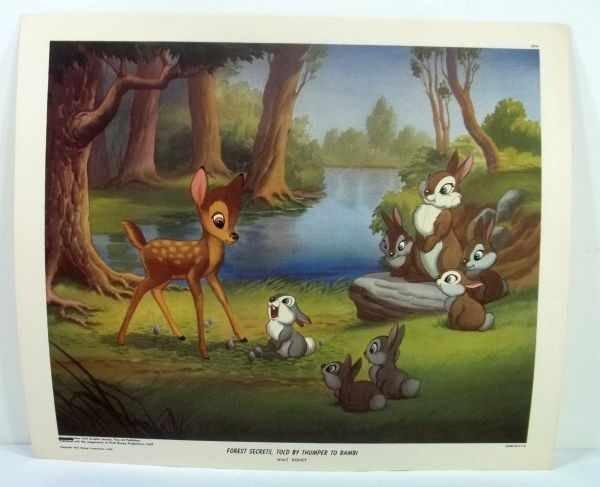 215: 4 Walt Disney Lithographs - 9