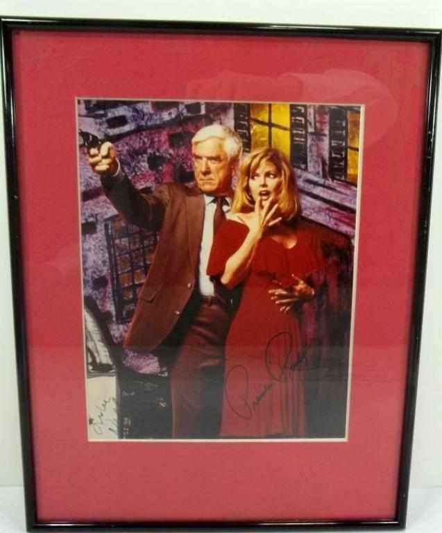 276: Leslie Nielsen & Priscilla Presley Autograph