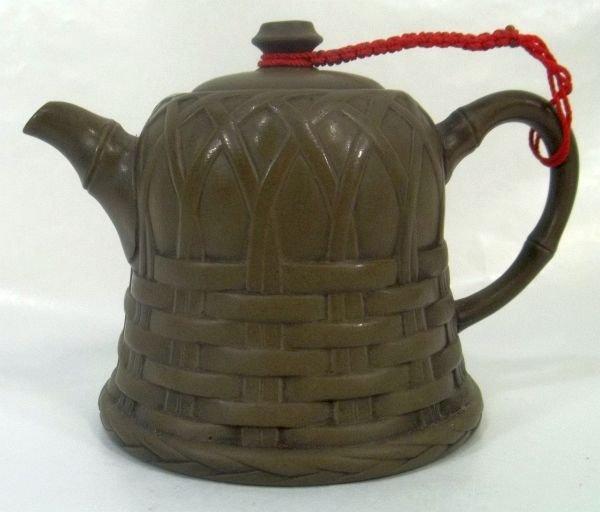 Miniature Stoneware Teapot