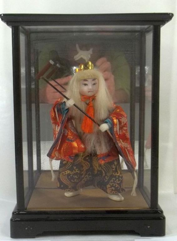 Kabuki Doll with Japan Label