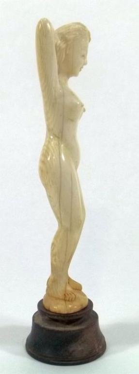 """Chinese Carved Ivory """"Doctor's Doll"""""""