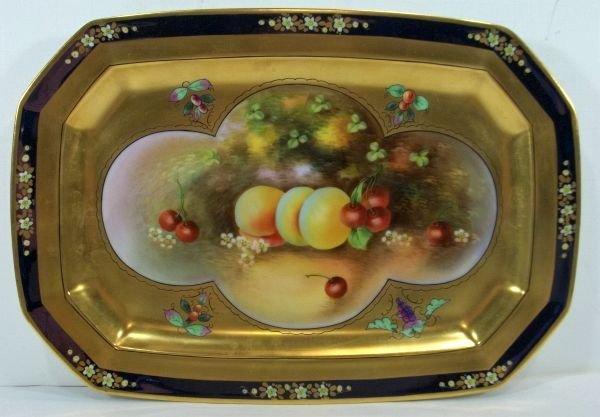 Pickard Porcelain Dessert Platter c1915