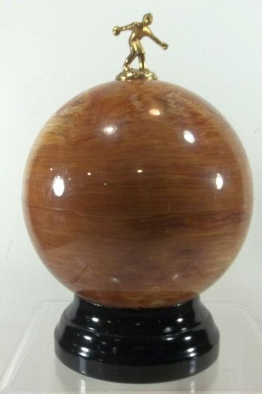Vintage Bowling Ball Pump Bar