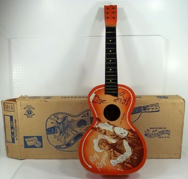 #70 Roy Rogers Child's Guitar w/ Original Box