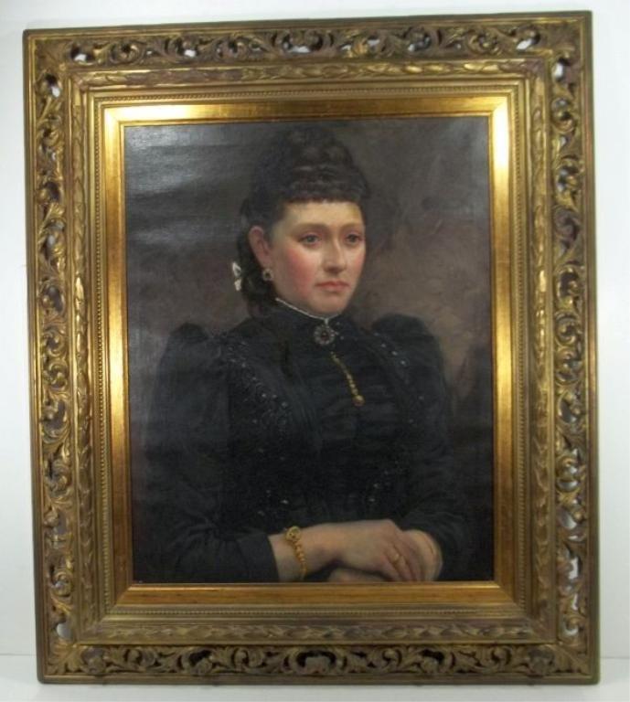 Portrait of a Lady w/ Jewelry