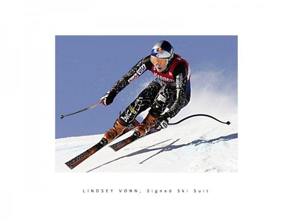 1: Shaun White snowboard and Lindsey Vonn ski suit - 2