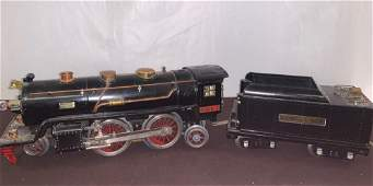 Lionel Lines #390-E Engine and Tender