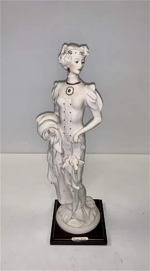Giuseppe Armani Lady with Umbrella