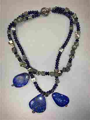 Large Lapis Lazuli Necklace