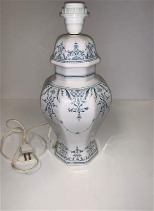 Signed French Lamp