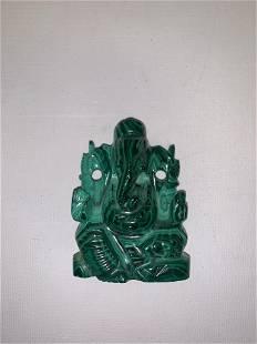 Malachite Buddha