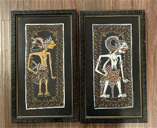 Javanese Puppet Prints