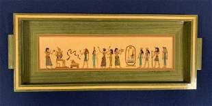 Egyptian Wooden Tray