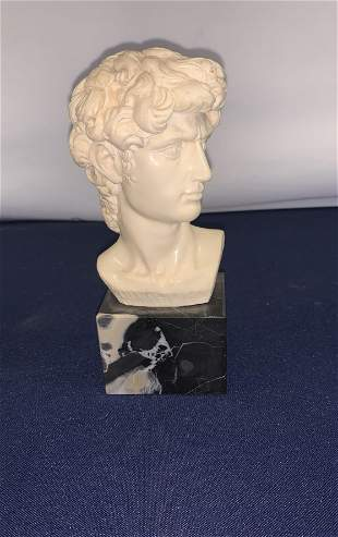 Bust with Marble Base