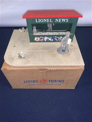 Lionel 128 News Stand OG Box