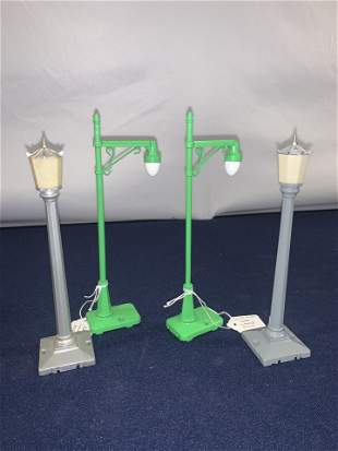 Lionel No35 and No64 Lamp Posts