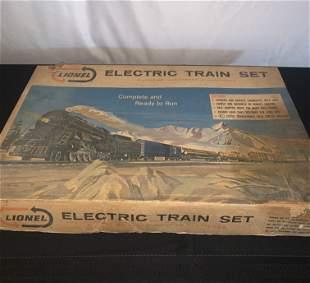 Lionel Electric Train Set