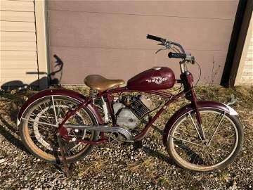 Whizzer Pacemaker Motor Bike
