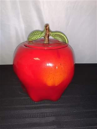 Red Apple Cookie Jar