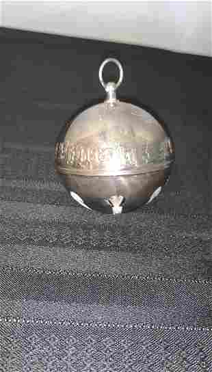 Wallace Christmas Bell Ornament