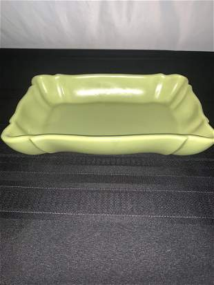 Haeger USA Green Dish Pottery