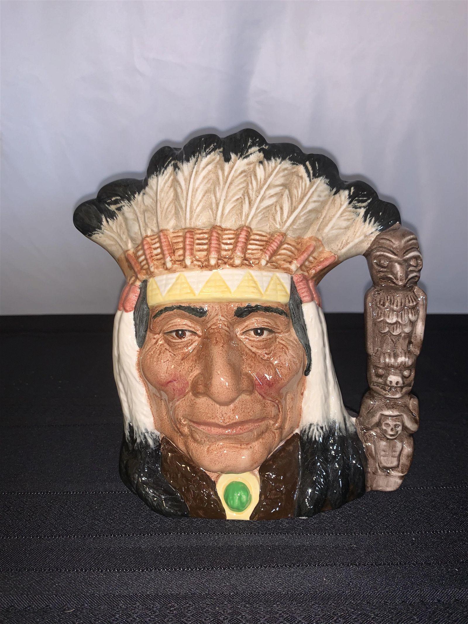 Royal Doulton North American Indian Toby Mug