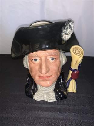 Royal Doulton George Washington Toby Mug