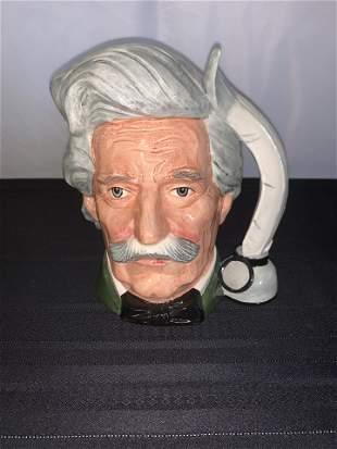 Royal Doulton Mark Twain Toby Mug