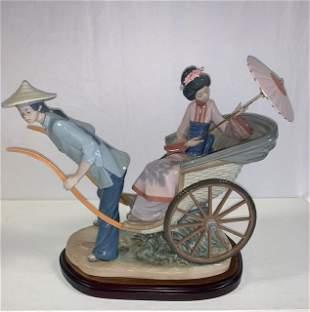 Lladro, Oriental Rickshaw Scene