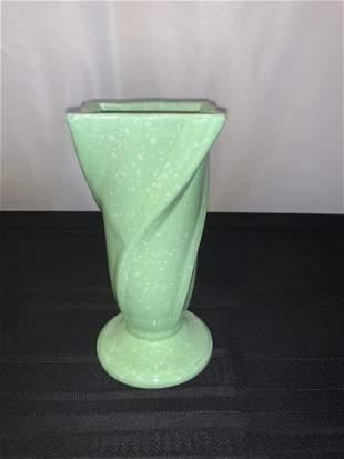 Ceramic USA Green Vase